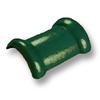 กระเบื้องคอนกรีต ตราเพชร เขียวสนฉัตร ครอบสันโค้ง 2 ทาง ราคาถูก