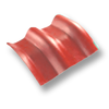 Diamond Roman Tile Sparkling Red 10 Degree Ridge cheap price
