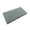 บล็อกปูพื้น ศิลาเหลี่ยม กราฟฟิค 01 30x60x6 ซม. น้ำตาล ราคาถูก