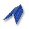 Diamond Small Corrugated Tile Roongroj Blue Round Hip Ridge Upper/Under cheap price