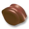 Cocoa Round Hip End Ridge SCG Roman Tile Hybrid cheap price