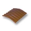 Diamond Small Corrugated Tile Sooksant Brown 10 Degree Ridge cheap price