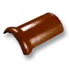 กระเบื้องคอนกรีต ตราเพชร ส้มคาซ่า ครอบสันโค้ง ราคาถูก