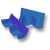 Shiny Pearl Blue Wall Ridge Left to right SCG Roman Tile Hybrid cheap price