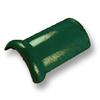 กระเบื้องคอนกรีต ตราเพชร เขียวสนฉัตร ครอบสันโค้ง ราคาถูก
