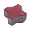 Concrete Block Uni pave Uni mini 11.25x11.25x6 cm Red cheap price