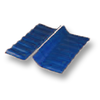Diamond Small Corrugated Tile Roongroj Blue Wall Ridge Left to Right cheap price