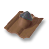 SCG Concrete Bronze Flashed Tile Ridge  cheap price