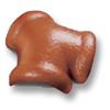Diamond Concrete Tile Old Rose Orange 3-Way Ridge cheap price