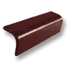 Diamond Concrete Tile Aroon Roong Brown Barge 90 Degrees cheap price