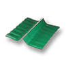 Diamond Small Corrugated Tile Sodchuen Green Wall Ridge Left to Right cheap price