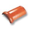 Diamond Concrete Tile Wararak Orange Round Ridge cheap price