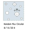 อะคูสติก Knauf Cleaneo Random Plus Circular SK 8/15/20R ราคาถูก