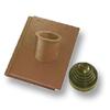 Prestige Shiney Brown Pipe Vent Tile Set cheap price
