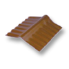 Diamond Small Corrugated Tile Sooksant Brown Adjustable Ridge Upper/Under cheap price