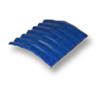Diamond Small Corrugated Tile Roongroj Blue 20 Degree Ridge cheap price