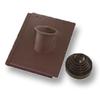 Prestige Log Brown Pipe Vent Tile Set cheap price