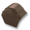 Curvlon Shiny Brown Round Hip End Ridge Discontinued 1Aug19 cheap price