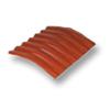 Diamond Small Corrugated Tile Golden Dragon Orange 20 Degree Ridge cheap price