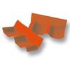 SCG Roman Tile Hybrid Shiny Pearl Orange Wall Ridge Left to right cheap price