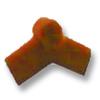 Brown Adjustable End Ridge Upper SCG Roman Tile Hybrid cheap price