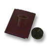 Prestige Deep Maroon Pipe Vent Tile Set cheap price