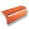 Diamond Concrete Tile Wararak Orange Barge End cheap price
