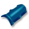 Light Blue Round Ridge SCG Roman Tile Hybrid cheap price