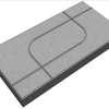 Concrete Block La linear Graphic 03 30x60x6 cm Grey cheap price