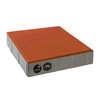Concrete Block La linear Cool plus 30X30X6 cm Jazzy Orange cheap price