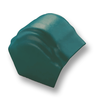 Curvlon Shiny Green Round Hip End Ridge Discontinued 1Aug19 cheap price