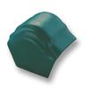 Curvlon Shiny Green Round Hip End Ridge Discontinued 1Aug19 cheap price