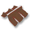 Cocoa Adjustable Angle Ridge Upper SCG Roman Tile Hybrid cheap price
