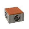 Concrete Block La linear Cool plus 10X10X6 cm Jazzy Orange cheap price