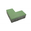 Concrete Block L shape 10x20x6ซม Green cheap price
