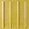 Guiding Block 40x40x3.5 cm Yellow Stripes cheap price