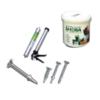 Screw Fiber Cement Shera for 10-12 mm 500pcs cheap price