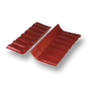 Diamond Small Corrugated Tile Mangmee Red Wall Ridge Left to Right cheap price