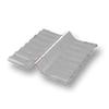 Diamond Small Corrugated Tile White Wall Ridge Left to Right cheap price