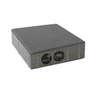 Concrete Block La linear Cool plus 20X20X6 cm Grey cheap price