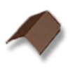 ครอบสันหลังคา นิวสไตล์ โมเดิร์น เทรนด์ น้ำตาลบราวน์แอช  ราคาถูก