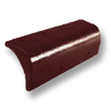Diamond Concrete Tile Aroon Roong Brown Barge End cheap price