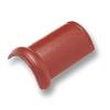 ครอบสันโค้ง กระเบื้องคอนกรีต ซีแพค เอสซีจี แดงกุหลาบ ราคาถูก