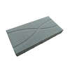 บล็อกปูพื้น ศิลาเหลี่ยม กราฟฟิค 01 30x60x6 ซม. แดง ราคาถูก
