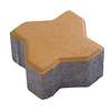 Concrete Block Uni pave Uni mini 11.25x11.25x6 cm Yellow cheap price