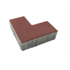 Concrete Block L shape 10x20x6ซม Red cheap price