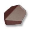 Prestige Log Brown Angle Hip End cheap price