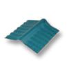 Diamond Small Corrugated Tile Mangkang Green Adjustable Ridge Upper/Under cheap price