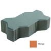 Concrete Block Uni pave 22.5x11.25x6 cm Orange cheap price