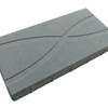 บล็อกปูพื้น ศิลาเหลี่ยม กราฟฟิค 01 30x60x6 ซม. เทา ราคาถูก